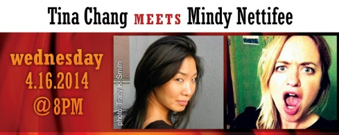 Tina Chang and Mindy Nettifee