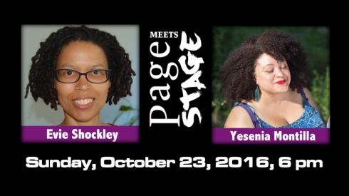 Evie Shockley Meets Yesenia Montilla On October 23, 2016