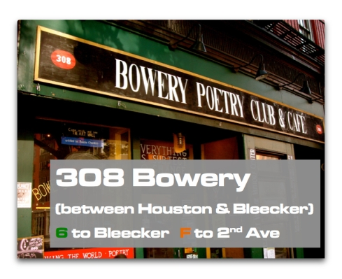Moving back to Bowery