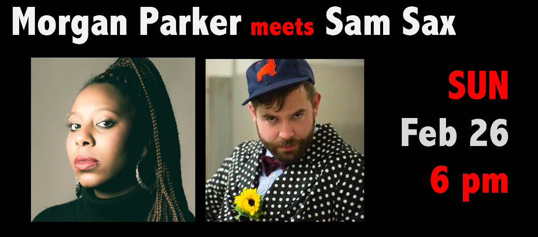 Morgan Parker meets Sam Sax on February 23, 2017